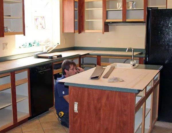Kitchen Cabinet Refacing kitchen remodel orlando