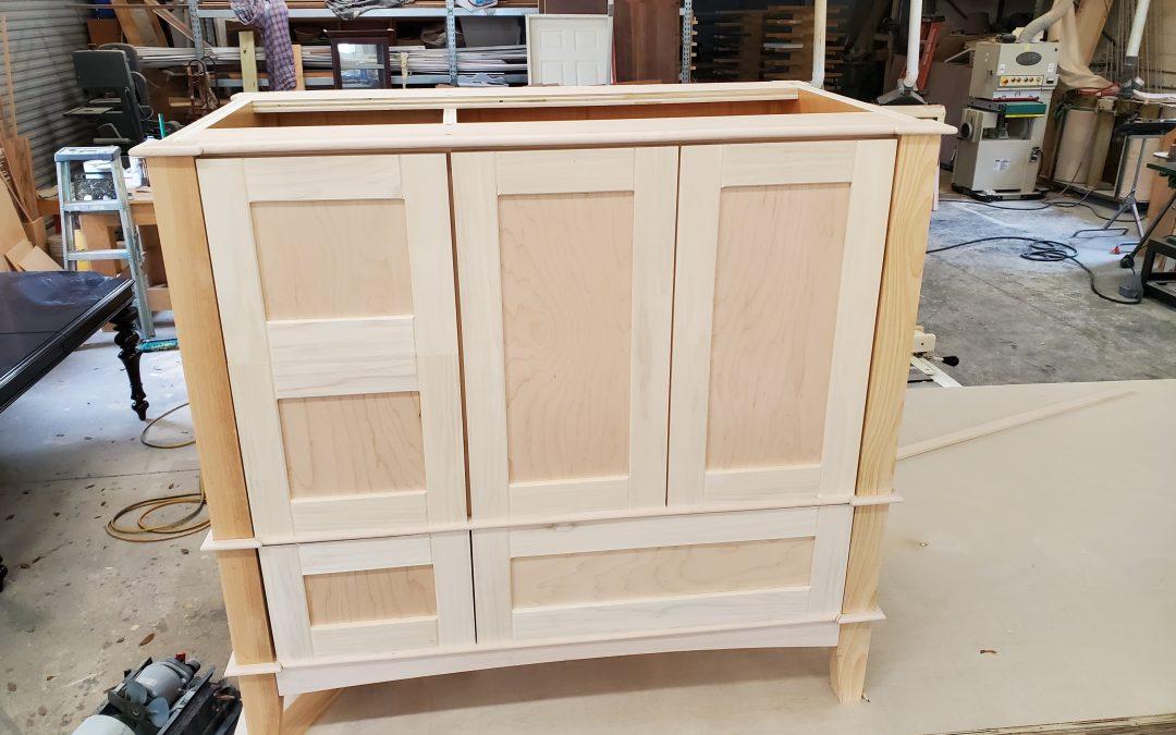 building custom vanity